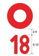 Okrugla markacija i brojčana oznaka puta_160_0_withoutgrow
